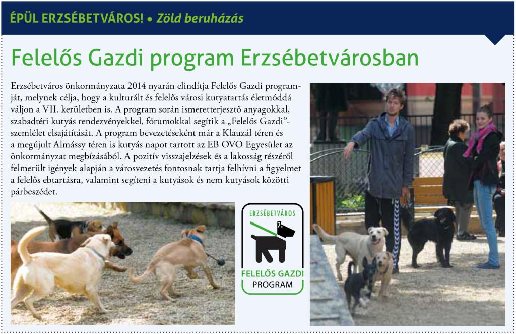 Felelős Gazdi Program