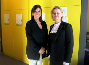 Óbuda-Békásmegyer alpolgármestere, Kelemen Viktória és Csonka Berta, az EB OVO Egyesület alapítója