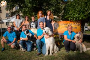 Az Azúr Kutyaiskola a Lakóközösségi Napokon mutatkozott be a gyerekeknek