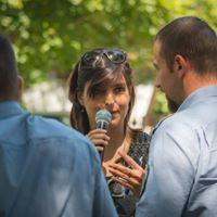 Csonka Berta az EB OVO Egyesület rendezvényén