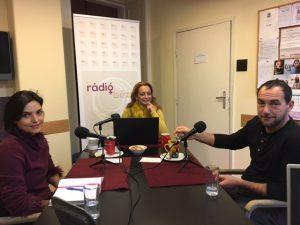 Egy kávé Micivel, Bézs Rádió (2018.02.22.) Csonka Berta és Korom Gábor vendégekkel