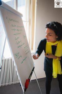 Csonka Berta, az EB OVO Egyesület alapítója