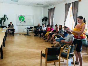 Pillanatkép a gárdonyi fórumról (EB OVO Közhasznú Egyesület)