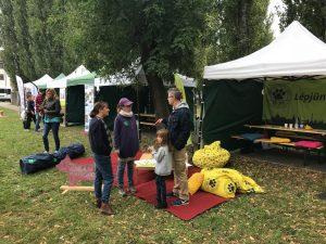 Az EB OVO standja a VI Sugárzoo Pikniken