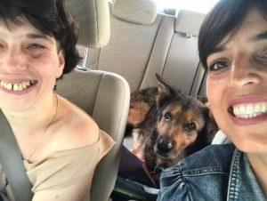 Vera, Brúnó kutya és Csonka Berta