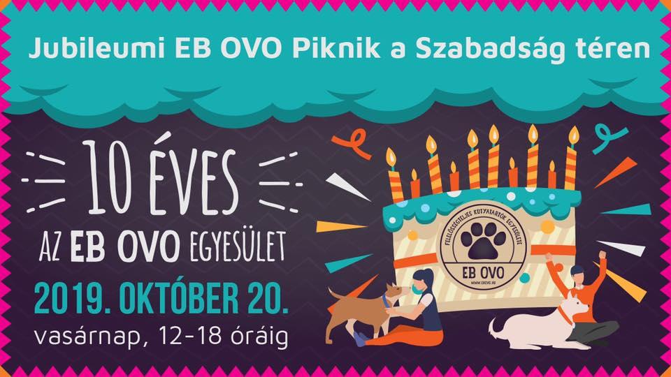 10 éves az EB OVO Egyesület